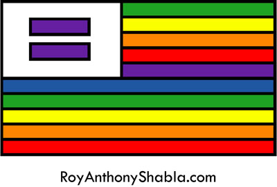 equality rainbow - graffiti art by Roy Anthony Shabla