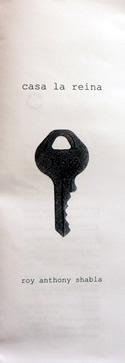 Chapbooks - keys series - handmade book by Roy Anthony Shabla