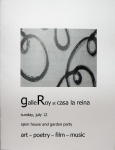 Chapbooks - galleroy @ casa la reina- handmade book by Roy Anthony Shabla