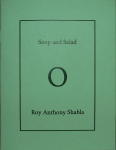 Chapbooks - soup and salad- handmade book by Roy Anthony Shabla