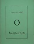 Chapbooks - soup and salad- handmade book by Roy Anthony Shabla