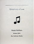 Chapbooks - symphony of love - handmade book by Roy Anthony Shabla