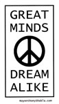 Great Minds Dream Alike - free poster