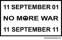 No More War - free poster