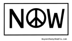 Now For Peace - free poster