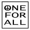 One Peace For All peace shirts