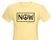 peace now shirt