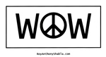 Wow For Peace - free poster