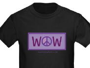 wow peace shirt
